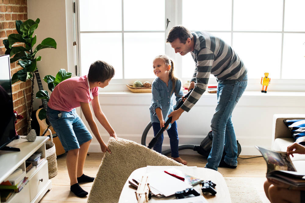 La limpieza es la primera y fundamental imagen de un hogar